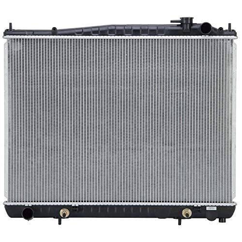 Klimoto KLI2459 - Radiador compatible con Nissan Pathfinder 2001-2004 Infiniti QX4 3.5L V6 NI3010120 NI3010121 214604W000 214604W017 Q2459 CU2459 RAD2459 DPI2459