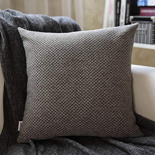 YAALO linnen kussen, 2 instelbare sofa kussen afneembaar wasbaar Aanbieding zachte rugsteun voor comfortabele bank slaapkamer bureaustoel rugleuning