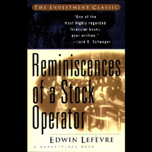 Reminiscences of a Stock Operator audiobook cover art