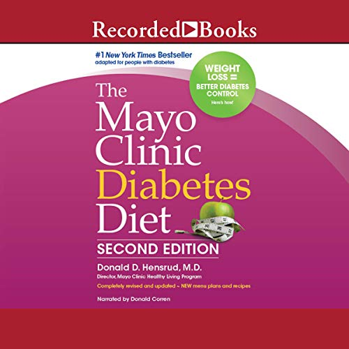The Mayo Clinic Diabetes Diet, 2nd Edition audiobook cover art