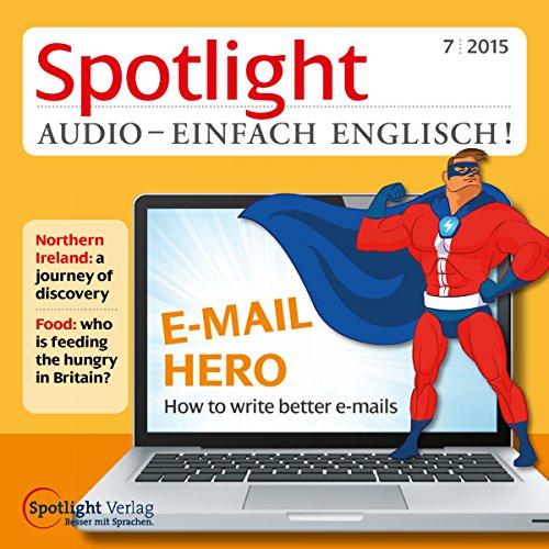 Spotlight Audio - E-Mail Hero 07/2015 Titelbild