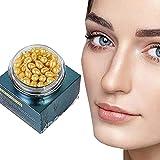 Eeauytr Extracto de placenta, crema blanqueadora antiarrugas, piel de reparación brillante hace que el colágeno suave y delicado natural para el cuidado de la piel facial de las mujeres