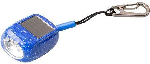 Rubytec - mini-zaklamp Kao Clip led solar 4,6 x 3,1 cm ABS blauw - Groen