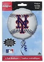 Anagram International New York Mets Package Party Balloons, 18, Multicolor by Anagram International