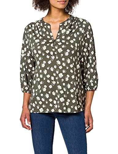 Cecil Damen 316218 T-Shirt, Utility Olive, L