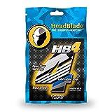 HeadBlade Men's HB4 Refill Shaving Razor Blades (4...