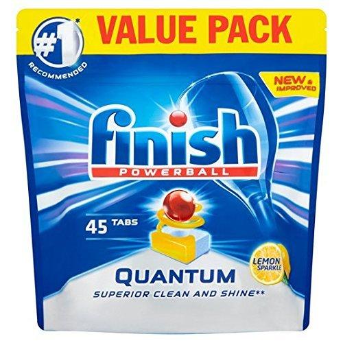 Finish Quantum Max Dishwasher Tablets Lemon 45's