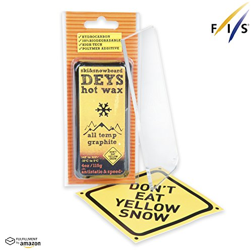 Don't Eat Yellow Snow Snowboard/Ski Wax