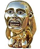 Indiana Jones Idol Golden Fertility Statue, Raiders of The Lost Ark Indiana Jones Props