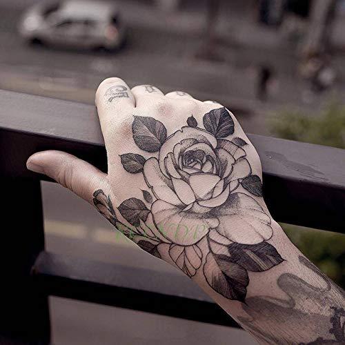tzxdbh 3pcs Impermeable Etiqueta engomada del Tatuaje Temporal ...