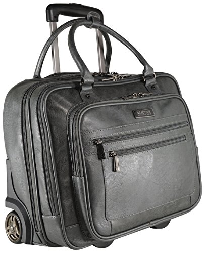 Kenneth Cole Reaction Wheeled Carry-On Tote, Grey, One Size