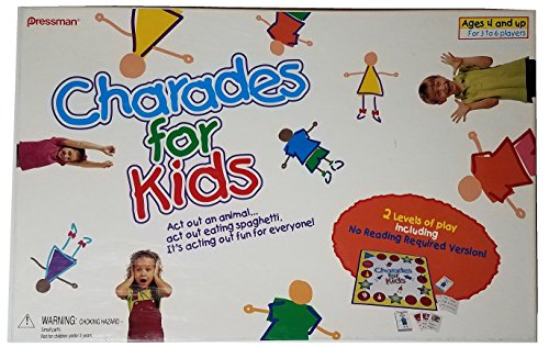 JOUETS PRESSMAN PRE300306 The Best For Kids Charades
