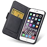 iPhone 6s Case Wallet, iPhone 6 Case with Card Holder/Slot, Slim Folio PU