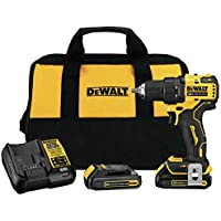 Dewalt Atomic 20V Max Brushless Compact 1/2 Inch Drill/Driver Kit