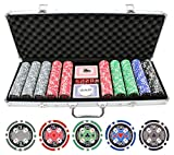 JP Commerce 500pc 11.5g Casino Ace Poker Chips Set