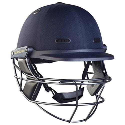 Masuri Sehtest Steel Cricket Helm, Blau, M