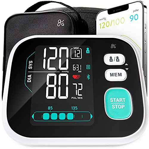 Greater Goods Blood Pressure Monitor - Pro-Series, Upper Arm...