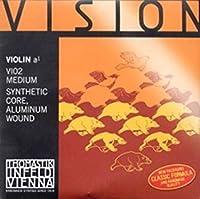 CUERDA VIOLIN - Thomastik (Vision/VI02) (Alma Sintetica Entorchado/Aluminio) 2ェ Medium Violin 3/4
