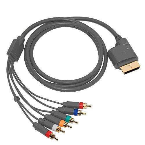 Gam3Gear Componente HD AV Cable de Audio Video en Xbox 360