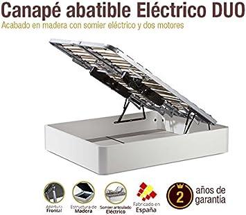 Naturconfort Canapé de Madera eléctrico Duo 150x190cm: Amazon ...