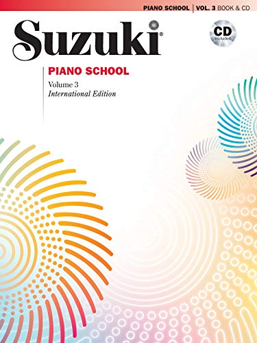 Suzuki Piano School New International Edition Piano Book and CD, Volume 3: Book & CD
