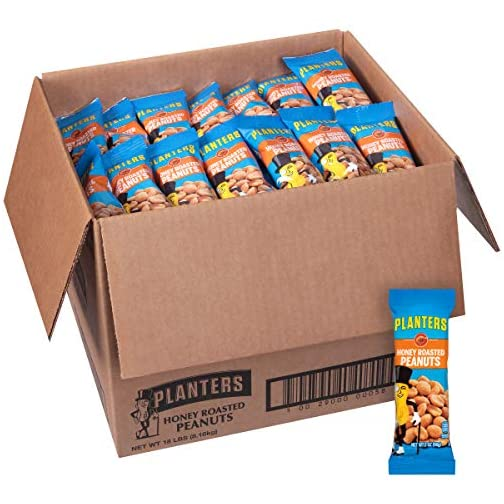 PLANTERS Salted Peanuts, 1 oz. Bags 4