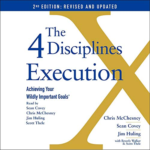 The 4 Disciplines of Execution: Revised and Updated cover art