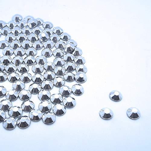 EliteKoopers Lot de 1 000 strass à dos plat pour nail art 4 mm