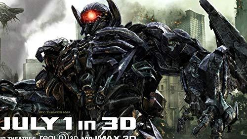 ZPDWT Puzzles 1000 Piezas-Transformers: Dark of The Moon Movie Posters-Juegos Educativos, Rompecabezas de Desafío Cerebral para Niños, Juguete De Regalo Ideal,50 × 75 cm