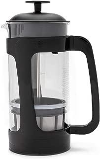 Espro 1432C-BK Coffee Press P3-32 oz, Glass and Black Plastic, 32 Ounce