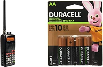 $101 » Whistler WS1010 Analog Handheld Scanner (Black) & Duracell - Rechargeable AA Batteries - Long Lasting, All-Purpose Double ...