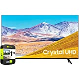 SAMSUNG UN55TU8000FXZA 55 inch 4K Ultra HD Smart LED TV 2020 Model Bundle with 1 Year Extended Protection Plan