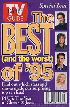 TV Guide January 6-12, 1996 (Jerry Seinfeld, Oprah Winfrey, David Schwimmer, Cybill Shepherd: The Best and The Worst of '95: The Year in Cheers & Jeers; Ten Shows That Clicked, Volume 44, No. 1, Issue #2232)