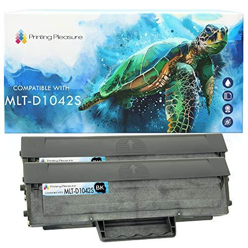 2 Toner Compatibili MLT-D1042S Cartuccia Laser per Samsung ML-1660, ML-1665, ML-1670, ML-1675, ML-1860, ML-1865, ML-1865W, SCX-3200, SCX-3201, SCX-3205, SCX-3205W, ML-1661, ML-1666 - Nero, Alta Resa