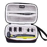 LTGEM EVA Estuche rígido para la trituradora y afeitadora eléctrica Norelco OneBlade Hybrid de Philips