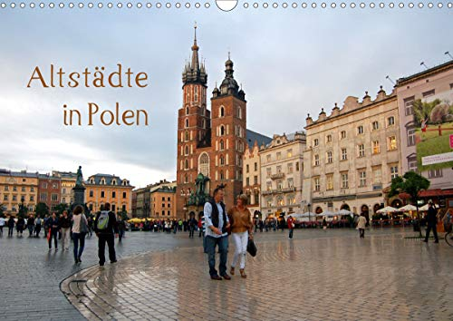 Altstädte in Polen (Wandkalender 2021 DIN A3 quer)