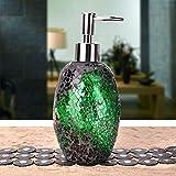 Yxp Seifenspender Plastik Lotion Pumpe, Mosaik Glasemulsion Pressflasche, Seifenflasche Glas...