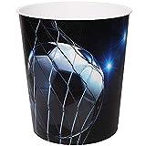 alles-meine.de GmbH Papierkorb / Behälter -  Fußball / Sport - Ball  - 10 Liter - aus Kunststoff - Mülleimer / Eimer - Aufbewahrungsbox für Kinder / Büro - Jungen - Abfalleimer..