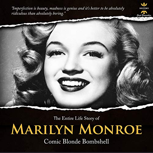 Marilyn Monroe Audiobook By The History Hour cover art