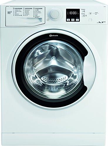 Bauknecht FWM 9F4 Waschmaschine Frontlader / A+++ / 1400 UpM / 9 kg / Weiß / langlebiger Motor / Nachlegefunktion / Wasserschutz