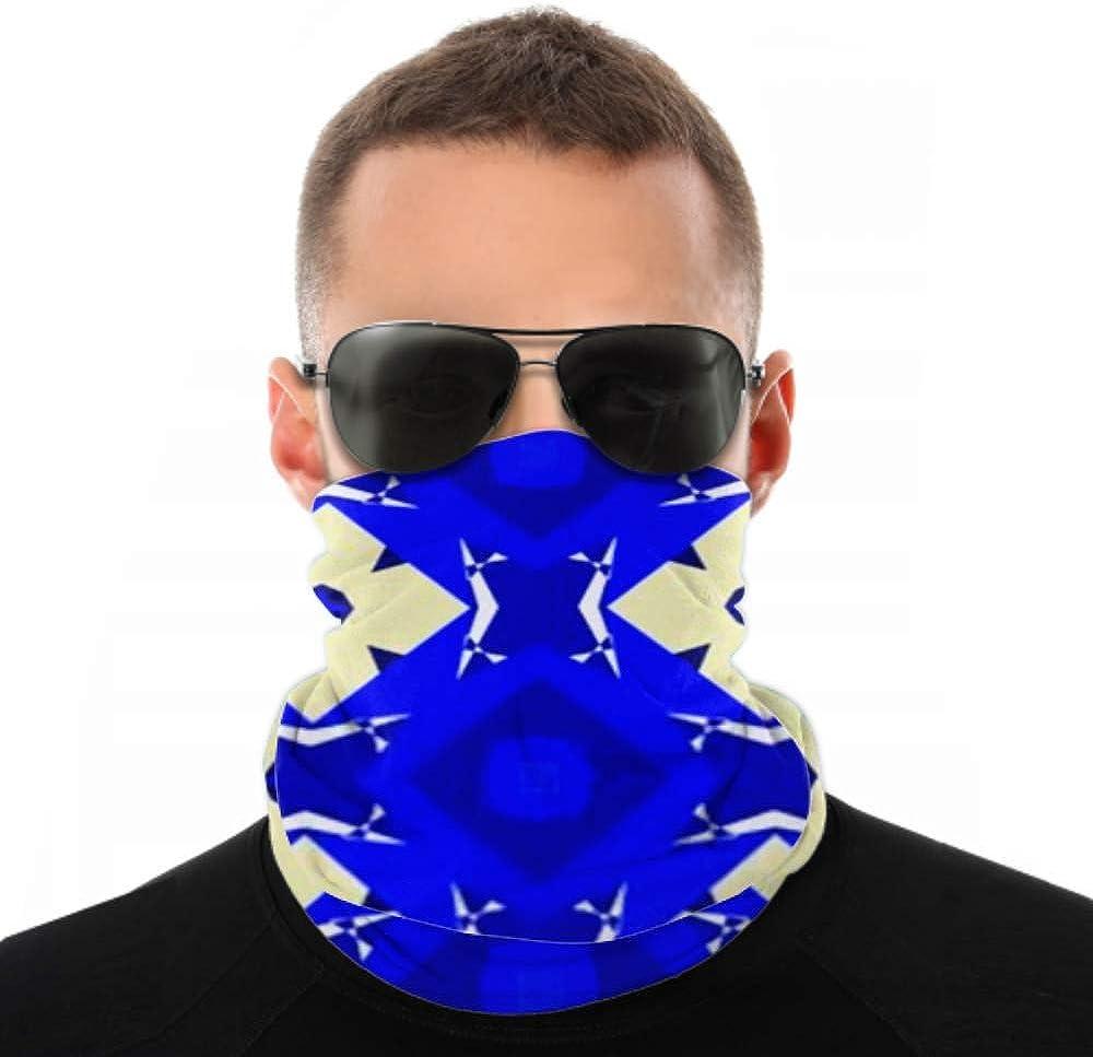 Headbands For Men Women Neck Gaiter, Face Mask, Headband, Scarf Abstract Symmetric Creative Illustration Kaleidoscope Turban Multi Scarf Double Sided Print Face Mask Bandana For Sport Outdoor