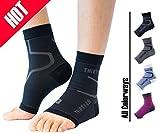 迅速感のある超軽量ファブリック – これらの靴下。伸縮デザインは主張しない、日常生活で動きを妨げない、メンズやレディースをクリックして作業中に、袖や運動をしでのレジャーにも着用いただけます。 グラデーション20 – 30 mmHgの圧力圧縮人間工学的に準拠していることをあなたの足の周りにタイトフィットを向上させる。 75 %ナイロン、25 %スパンデックス十分快適に装着可能何かサンダル、スリッパ、スニーカー、フォーマル靴ヒール)の下のあったか靴下。薄くて通気性で、湿気を吸収して外に出す、これらの...