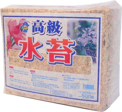 あかぎ園芸 チリ産 高級 水苔 500g