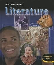 Literature, Grade 6, Common Core Edition (Holt McDougal Literature)