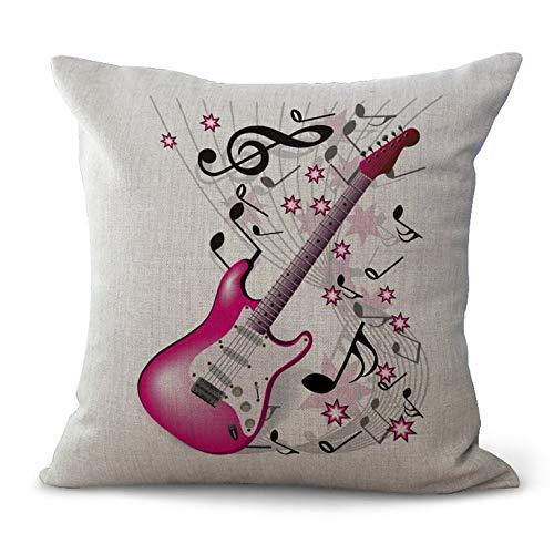 N/V C1084 Funda de almohada de lino para el hogar decorativa funda de almohada para sofá de coche
