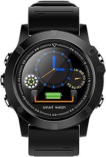 WF Pulsera Actividad Inteligente Hombre Acuatico, HD Color Screen Pulsómetro Pulsera Monitor Calorías Sueño Podómetro Modos Multideportivos Impermeable IP68 Smartwatch, Hombre Mujer Niños
