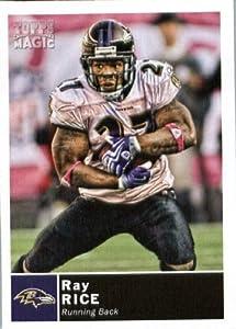 2010 Topps Magic Football Card #171 Ray Rice - Baltimore Ravens - NFL Trading Card