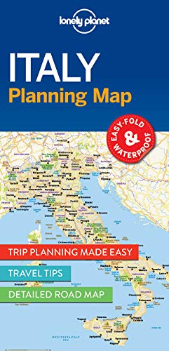 Lonely Planet Italy Planning Map (Planning Maps)