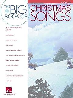 Big Book Of Christmas Songs Violin
