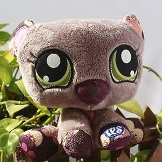 New Littlest Pet Shop LPS Little BABY brown bear 6